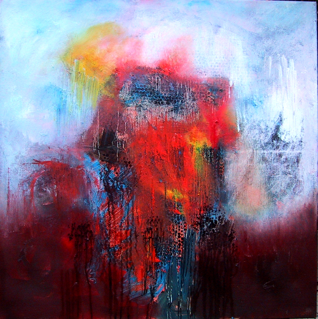 Good-bye my king 100x100 cm